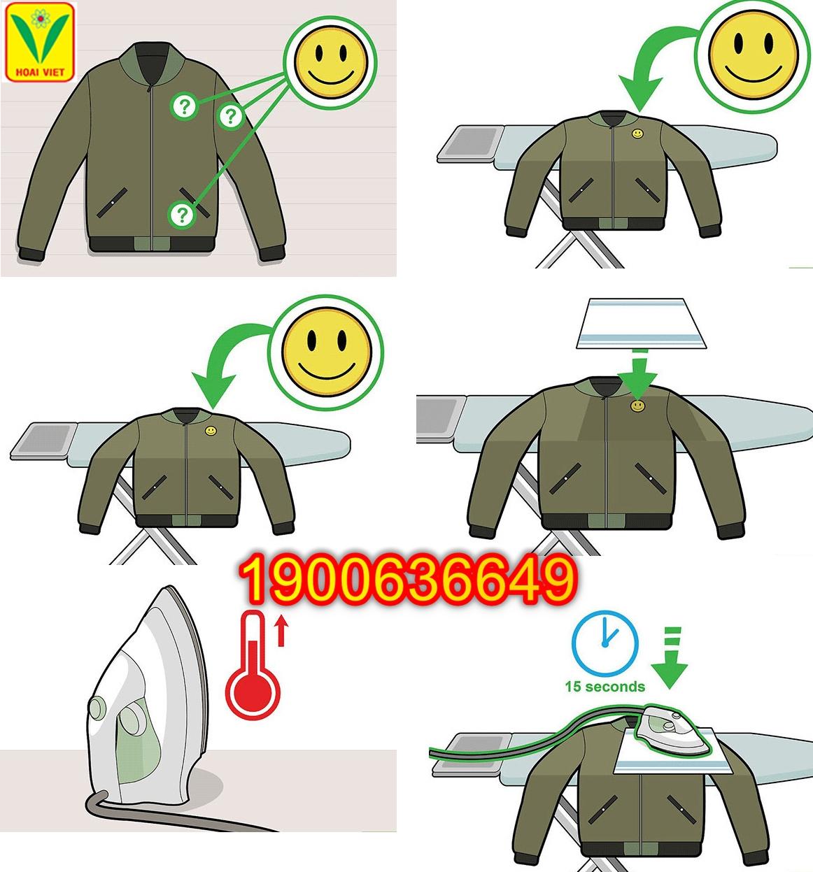 quy trình làm phù hiệu 3