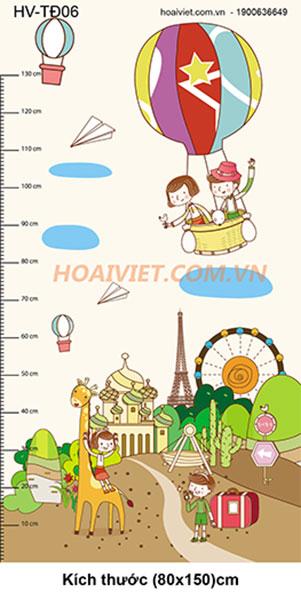 tranh đo chiều cao HV-TĐ06